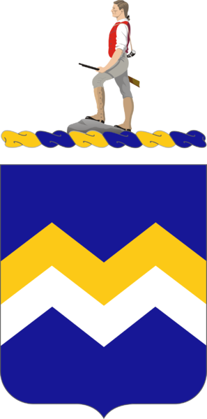 Coat of arms (crest) of the 416th (Infantry) Regiment, US Army