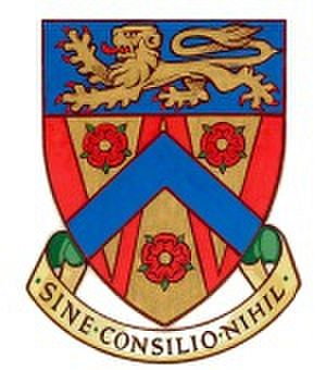 Coat of arms (crest) of County College (Lancaster University)