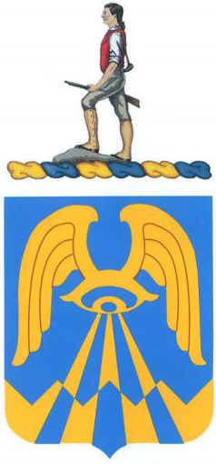 Arms of 24th Military Intelligence Battalion, US Army