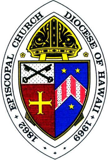 Arms (crest) of Diocese of Hawaii