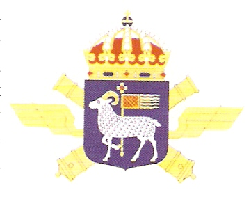 Coat of arms (crest) of the 2nd Air Defence Battalion Gotland Air Defence Battalion, Swedish Army