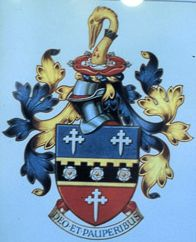 Arms of Hospital of Queen Elizabeth in Donnington