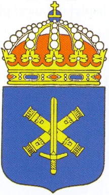 Coat of arms (crest) of the Military Staff School, Sweden