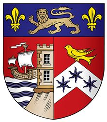 Coat of arms (crest) of Queen Elizabeth's Hospital, Bristol