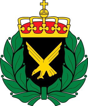 Coat of arms (crest) of the Home Guard - Air, Norway