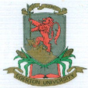 Arms (crest) of Egerton University