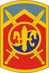 Arms of 501st Sustainment Brigade, US Army