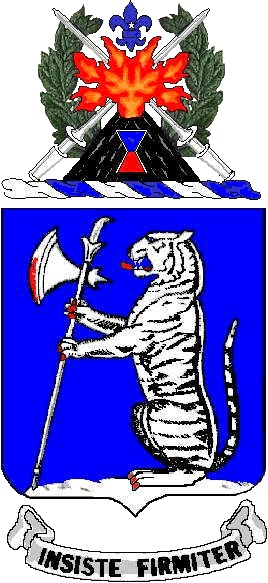 Coat of arms (crest) of the 77th Armor Regiment, US Army