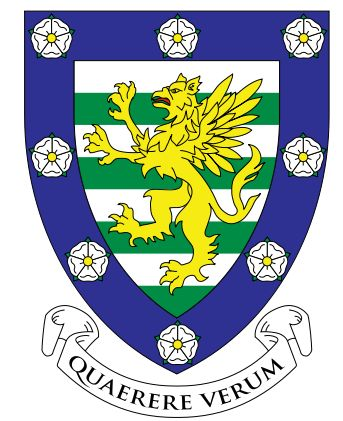 Arms (crest) of Downing College (Cambridge University)