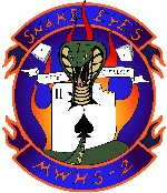 Coat of arms (crest) of the MWHS-2 Snake Eyes, USMC