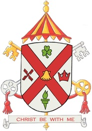 Arms (crest) of Basilica of Saint Patrick's Old Cathedral, New York
