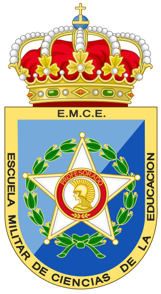 Coat of arms (crest) of the Military School of Educational Science, Spain