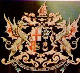 Arms of London, Brighton and South Coast Railway