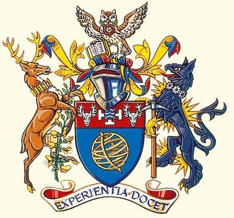 Coat of arms (crest) of University of Derby