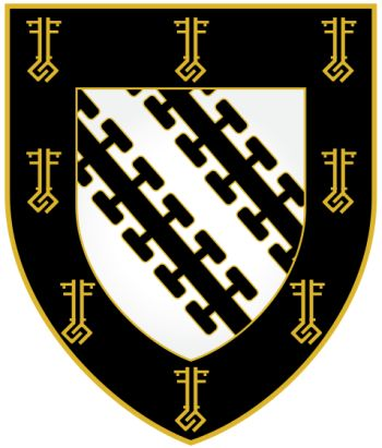 Arms (crest) of Exeter College (Oxford University)