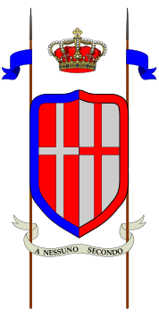 Arms of 26th Cavalry Regiment Lancieri di Vercelli, Italian Army