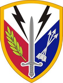 Arms of 405th Support Brigade, US Army
