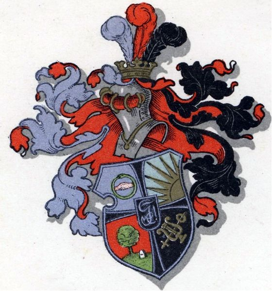 Arms of Berliner Burschenschaft Germania