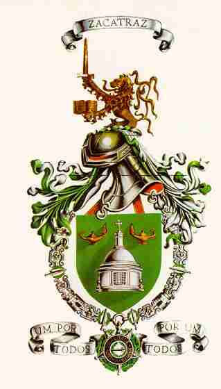 Coat of arms (crest) of the Military College, Portuguese Army