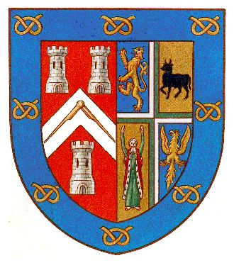 Arms of Provincial Grand Lodge of Staffordshire