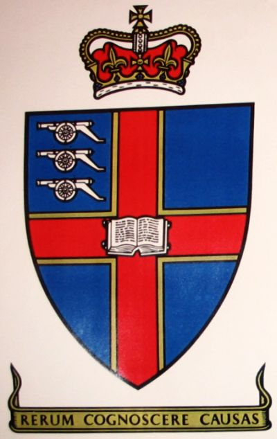 Arms of Royal Military College of Science