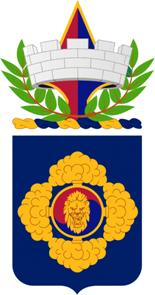 Arms of 23rd Chemical Battalion, US Army