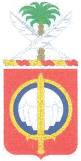 Coat of arms (crest) of the 82nd Personnel Service Battalion, US Army