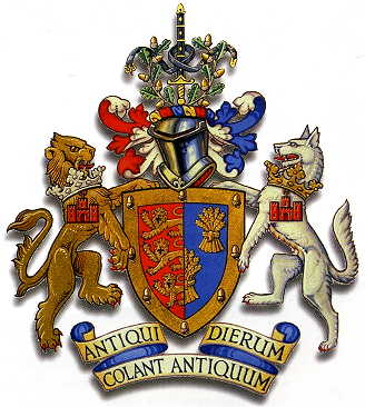 Arms (crest) of Chester