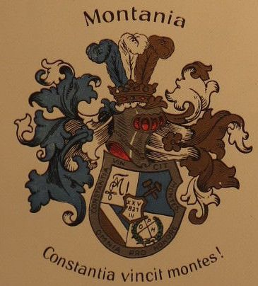 Arms of Corps Montania zu Freiberg