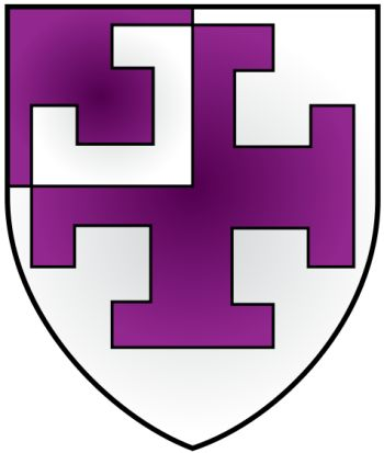 Arms of St Cross College (Oxford University)