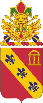 Arms of 319th Field Artillery Regiment, US Army