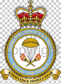 Coat of arms (crest) of the Airborne Delivery Wing, Royal Air Force