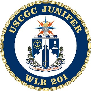 Coat of arms (crest) of the USCGC Juniper (WLB-201)