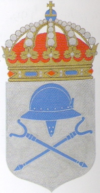 Coat of arms (crest) of the HMS Sundsvall, Swedish Navy