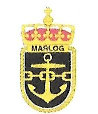 Coat of arms (crest) of the Naval Logistic Arm, Norwegian Navy