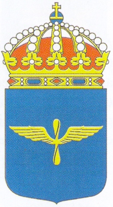 Coat of arms (crest) of the Air Tactical Command, Swedish Air Force