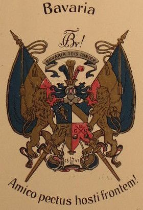 Arms of Corps Bavaria zu Karlsruhe