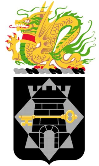 Coat of arms (crest) of the 126th Finance Battalion, US Army