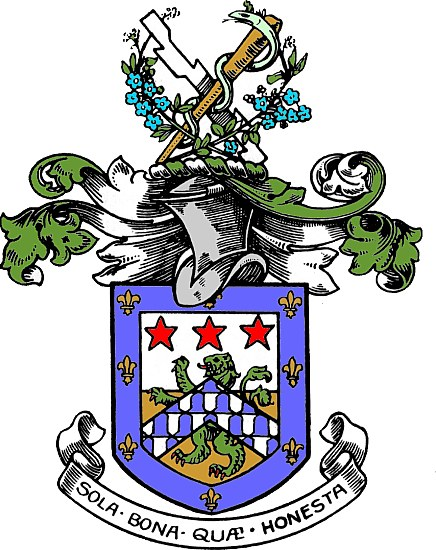 Arms (crest) of Royal Leamington Spa