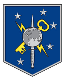Coat of arms (crest) of the Marine Special Operations Intelligence Battalion, USMC