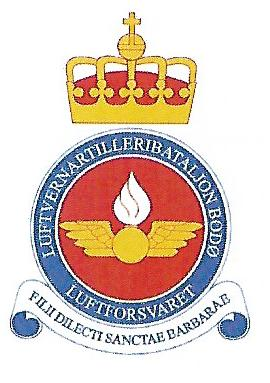 Coat of arms (crest) of the Anti Aircraft Battalion Bodø