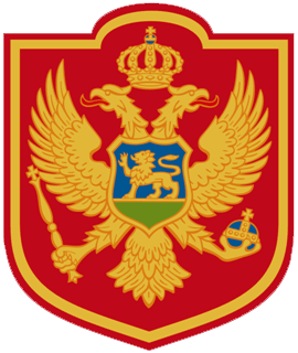 Arms (crest) of Military heraldry of Montenegro