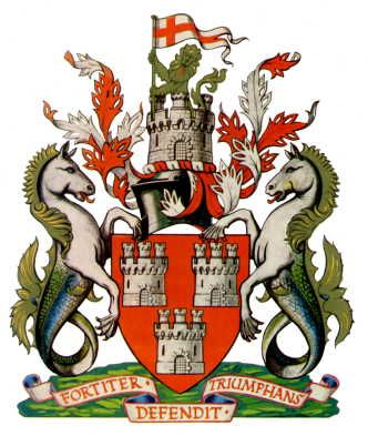 Arms (crest) of Newcastle-upon-Tyne
