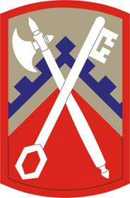Arms of 16th Sustainment Brigade, US Army