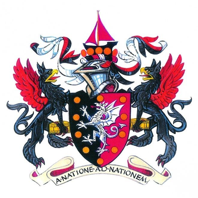Arms of Worshipful Company of International Bankers