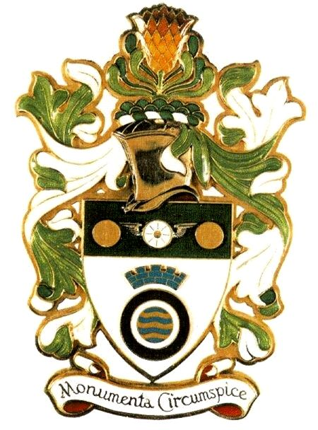 Arms of Institute of Municipal Engineering of Southern Africa