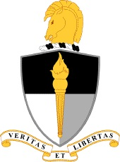 Coat of arms (crest) of the John F. Kennedy Special Warfare Center and School, US Army
