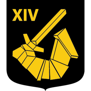 Coat of arms (crest) of the 1914th Armoured Company, 191st Mechanized Battalion, Norrbotten Regiment, Swedish Army