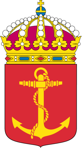 Coat of arms (crest) of the 3rd Sea Combat Flottilla, Swedish Navy