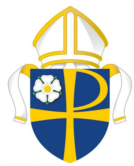 Arms (crest) of Diocese of Leeds